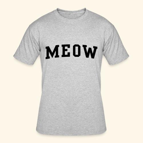 MEOW - Men's 50/50 T-Shirt