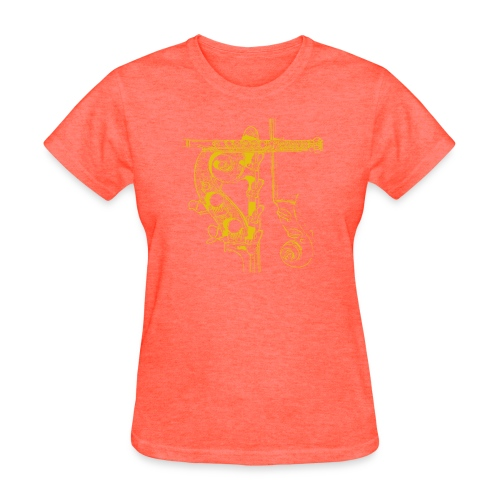 PROJECT Trio Cover (Yellow Ink) - Women's T-Shirt