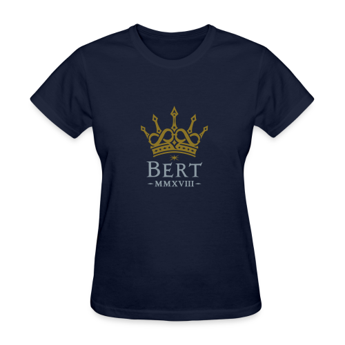 QueenBert 2018-Gold/Silver - Women's T-Shirt