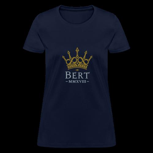 QueenBert 2018-Gold/Silver - Women's T-Shirt
