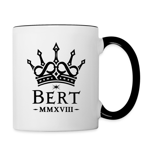 QueenBert 2018-Black - Contrast Coffee Mug