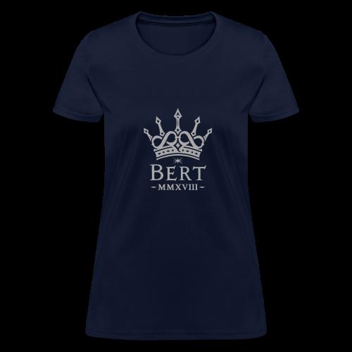 QueenBert 2018-Silver Glitter - Women's T-Shirt