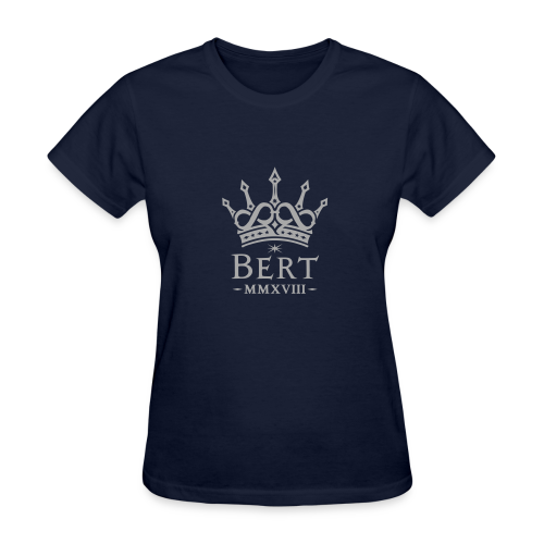 QueenBert 2018-Silver Glitter - Women's T-Shirt