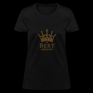 QueenBert 2018-Gold Glitter - Women's T-Shirt