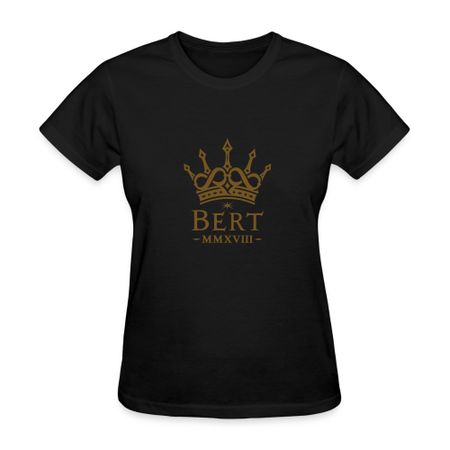 QueenBert 2018-Gold Glitter - Women's T-Shirt