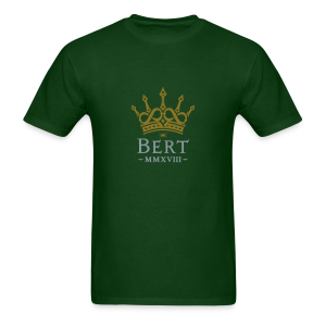 QueenBert 2018-Gold/Silver - Men's T-Shirt