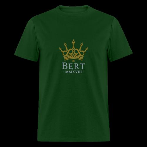 QueenBert 2018-Gold/Silver - Men's T-Shirt