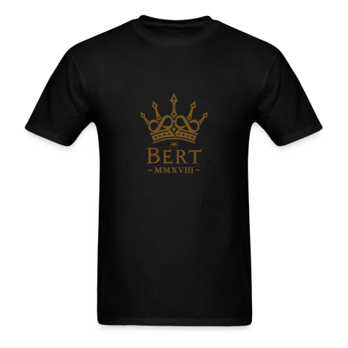 QueenBert 2018-Gold Glitter - Men's T-Shirt
