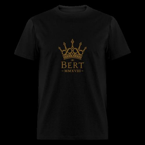 QueenBert 2018-Gold Glitter - Men's T-Shirt