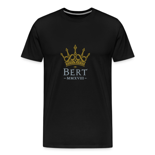QueenBert 2018-Gold/Silver - Men's Premium T-Shirt