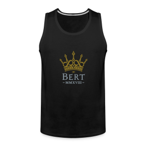 QueenBert 2018-Gold/Silver - Men's Premium Tank