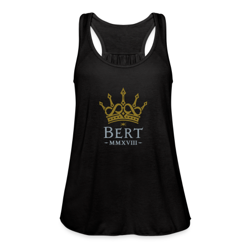 QueenBert 2018-Gold/Silver - Women's Flowy Tank Top by Bella