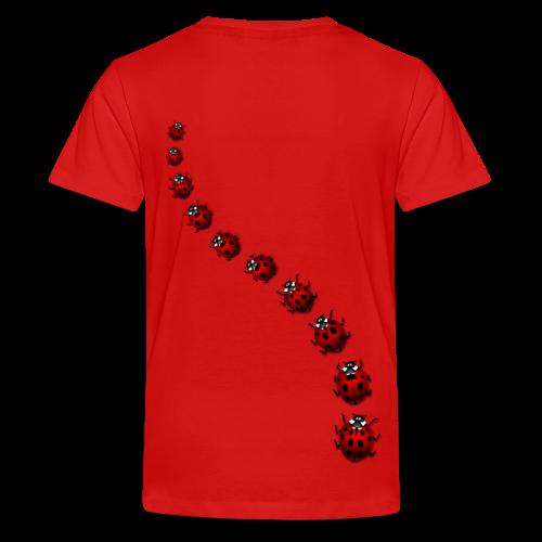 Ladybug / Ladybird Art T-shirts - Kid's - Kids' Premium T-Shirt