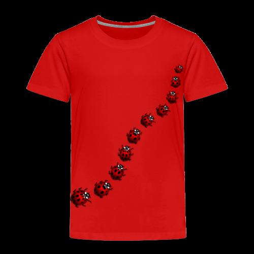 Ladybug / Ladybird Art T-shirts - Toddler - Toddler Premium T-Shirt