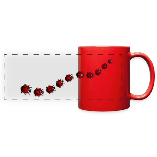 Ladybug / Ladybird Cups / Mugs - Full Color Panoramic Mug