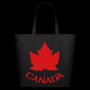 Canada Souvenir Tote Bags - Eco-Friendly Cotton Tote