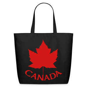 Canada Souvenir Tote Bags - Eco-Friendly Cotton Tote