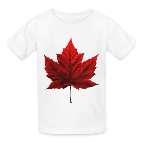 Kid's Canada Souvenir T-shirt Maple Leaf Kid's T-shirt - Kids' T-Shirt