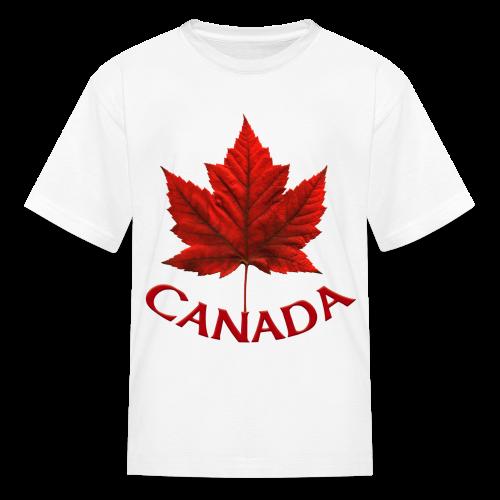 Kid's Canada Souvenir T-shirt Maple Leaf Kid's T-shirt - Kids' T-Shirt