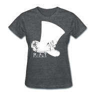 Women's T-Shirts ~ Women's T-Shirt ~ Official Hat Films Full Frontal (White Logo)