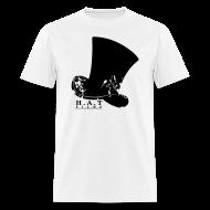 T-Shirts ~ Men's T-Shirt ~ Official Hat Films Full Frontal (Black Logo)