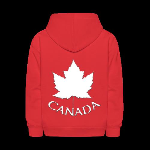 Kid's Canada Hoodie Souvenir Kid's Canada Hooded Sweatshirt - Kids' Hoodie