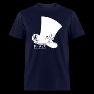T-Shirts ~ Men's T-Shirt ~ Official Hat Films Full Frontal (White Logo)