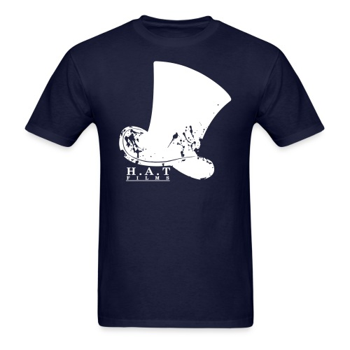 Official Hat Films Full Frontal (White Logo) - Men's T-Shirt