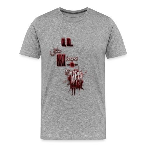 Neck/Teeth - Men's Premium T-Shirt