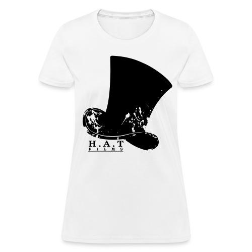 Official Hat Films Full Frontal (Black Logo) - Women's T-Shirt
