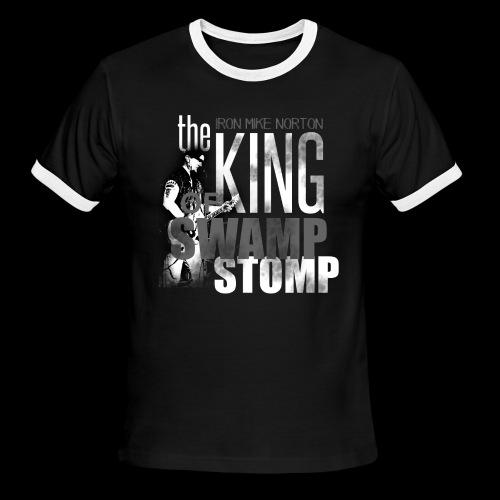 King of Swamp Stomp Ringer Shirt - Men's Ringer T-Shirt