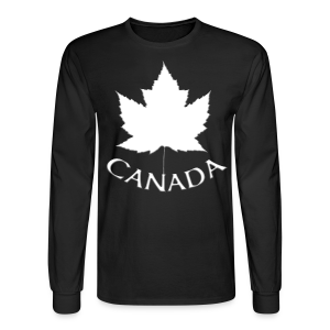 Men's Canada Shirt Souvenir Red Maple Leaf Men's Shirts - Men's Long Sleeve T-Shirt