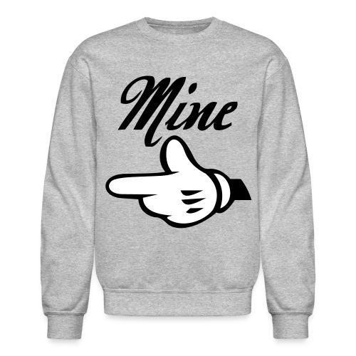 Mine. (Right Side) - Crewneck Sweatshirt