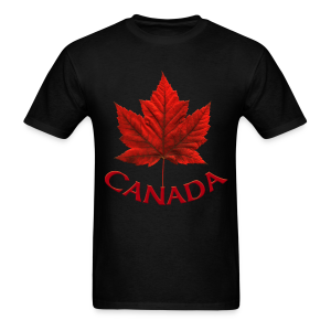 Men's Canada Shirt Souvenir Red Maple Leaf Men's Shirts - Men's T-Shirt