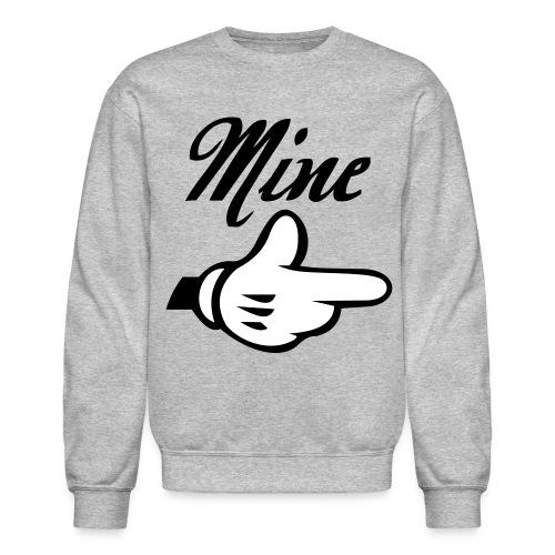 Mine. (Left Side) - Crewneck Sweatshirt