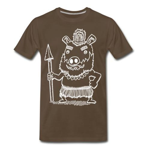Antonio the Tribal Adventurer - Men's Premium T-Shirt