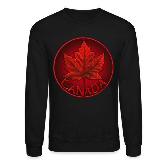 Canada Shirt Souvenir Red Maple Leaf Sweatshirts