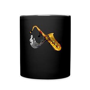 Saxophone (ADD CUSTOM TEXT) - Full Color Mug