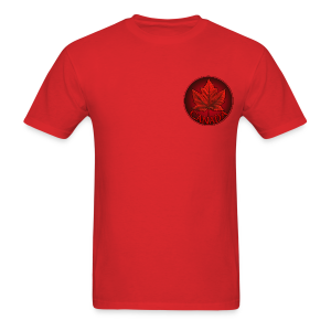 Canada Maple Leaf Souvenir Men's T- Shirt  - Men's T-Shirt