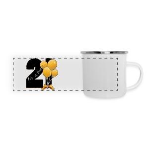 21st Birthday (ADD CUSTOM TEXT) - Panoramic Camper Mug