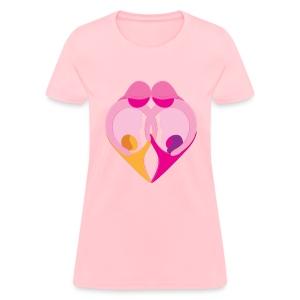 Two Moms - Women's T-Shirt