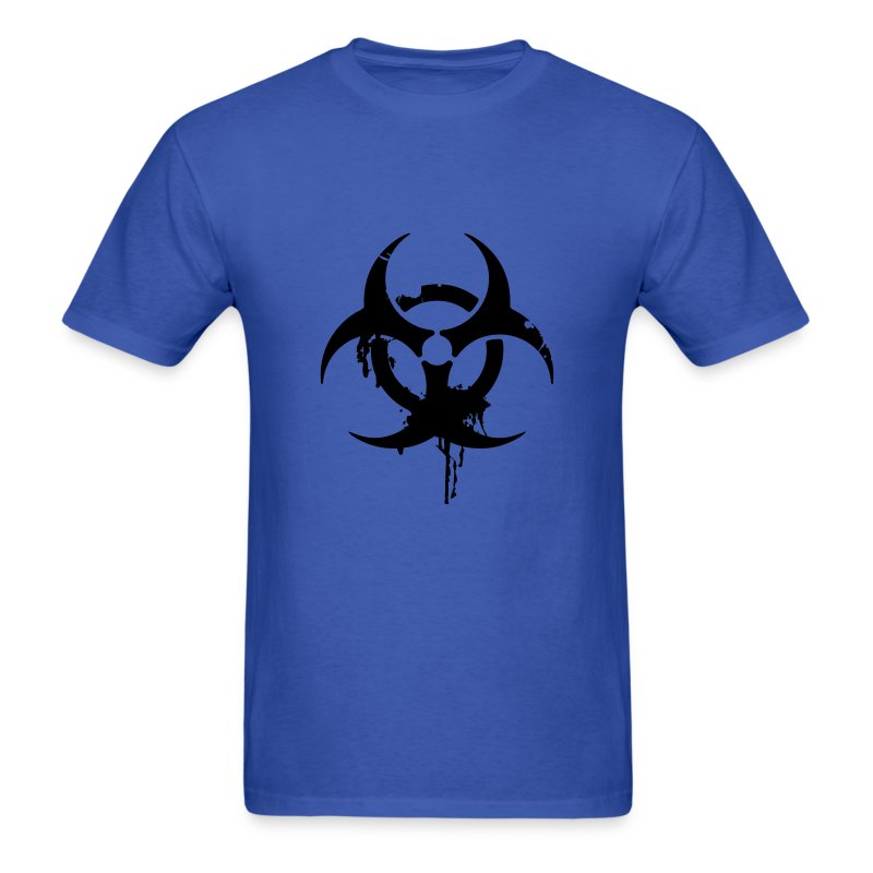 Zombie Biohazard - Men's T-Shirt