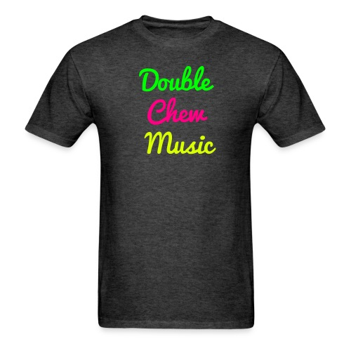 Double Chew Music cursive Tshirt - Men's T-Shirt