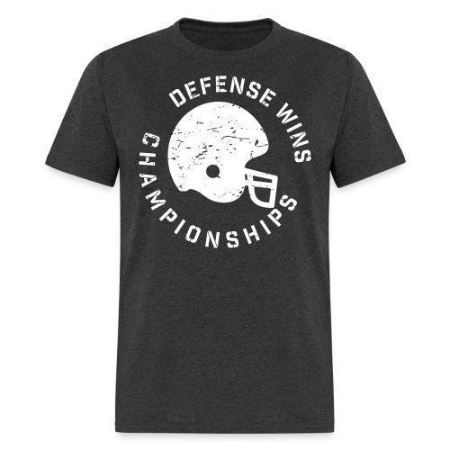 Defense Wins Championships Football elite team shirt - Men's T-Shirt