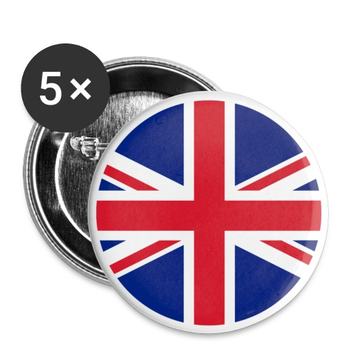 UK Pacific Roundel Badge Pin - Small Buttons