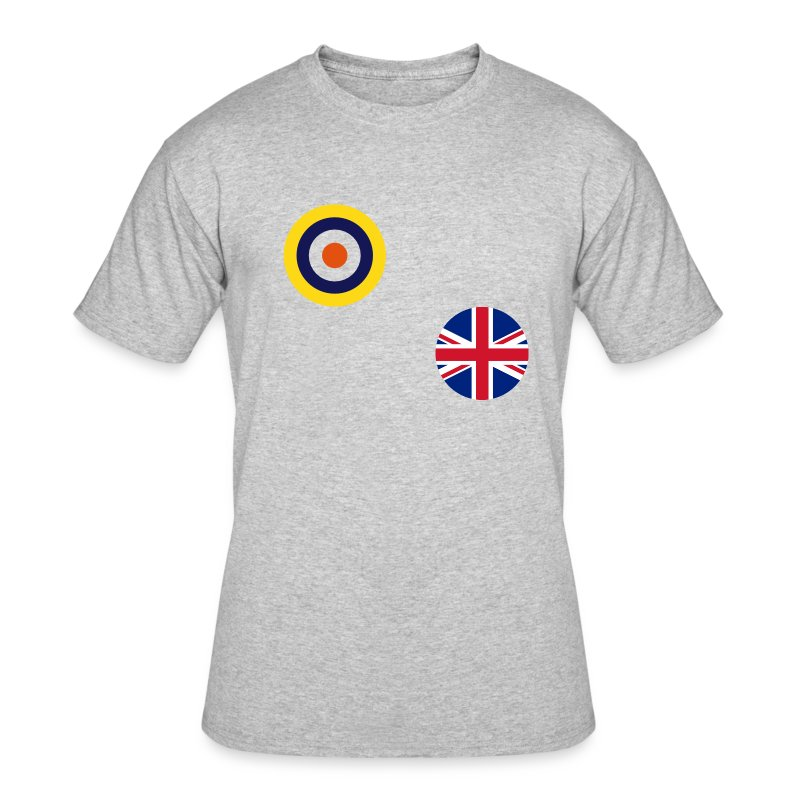 UK T-Shirt for Global Axis & Allies 1940 - Men's 50/50 T-Shirt