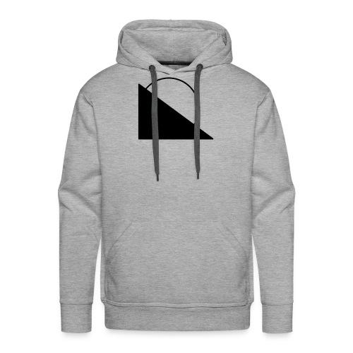 Men's Premium Hoodie - oRiginal Black Edition - Men's Premium Hoodie