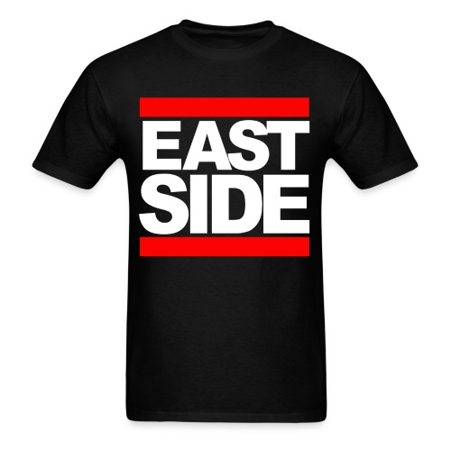 EASTSIDE Tee, Black  - Men's T-Shirt