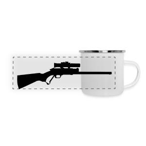 Gun (ADD CUSTOM TEXT) - Panoramic Camper Mug