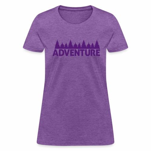 Adventure - Women's 100% Cotton Shirt - Women's T-Shirt